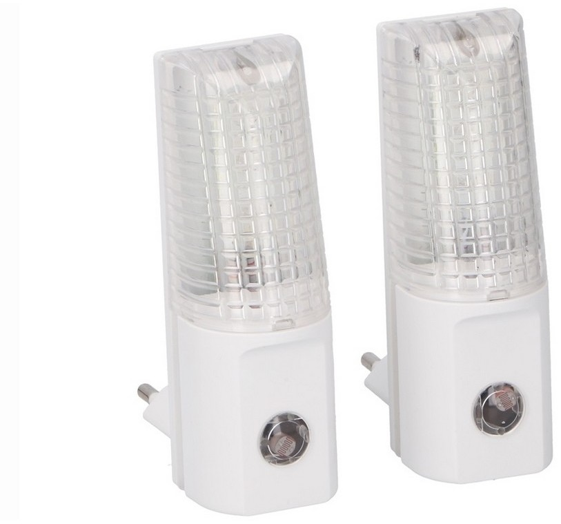 Grundig Grundig 96  ZESTAW 2x LED Nocne światełko do gniazdka 2xLED/0,5W/230V