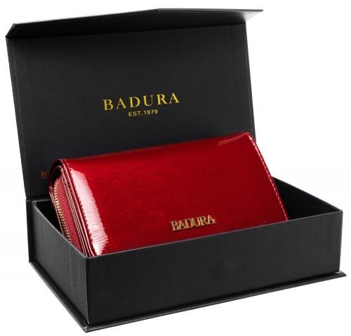 Badura BADURA portfel damski skórzany XXL 99555