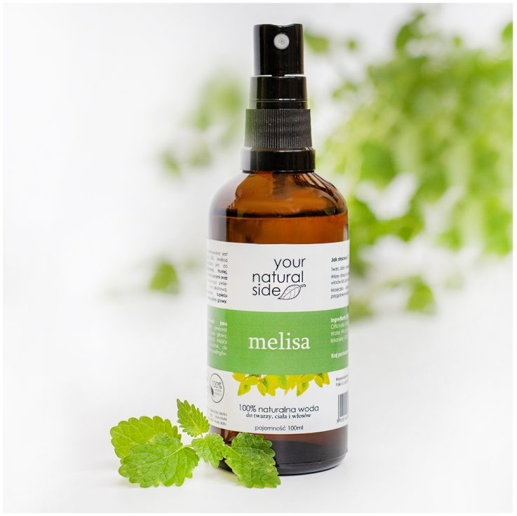 Your Natural Side YOUR NATURAL SIDE WODA Z MELISY 200ML