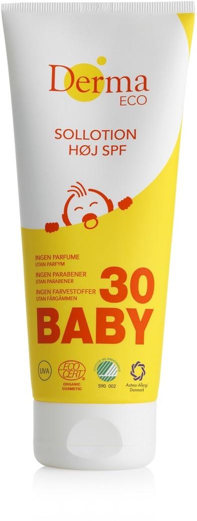 Derma Eco Baby Sollotion balsam przeciwsłoneczny SPF30 200ml Derma