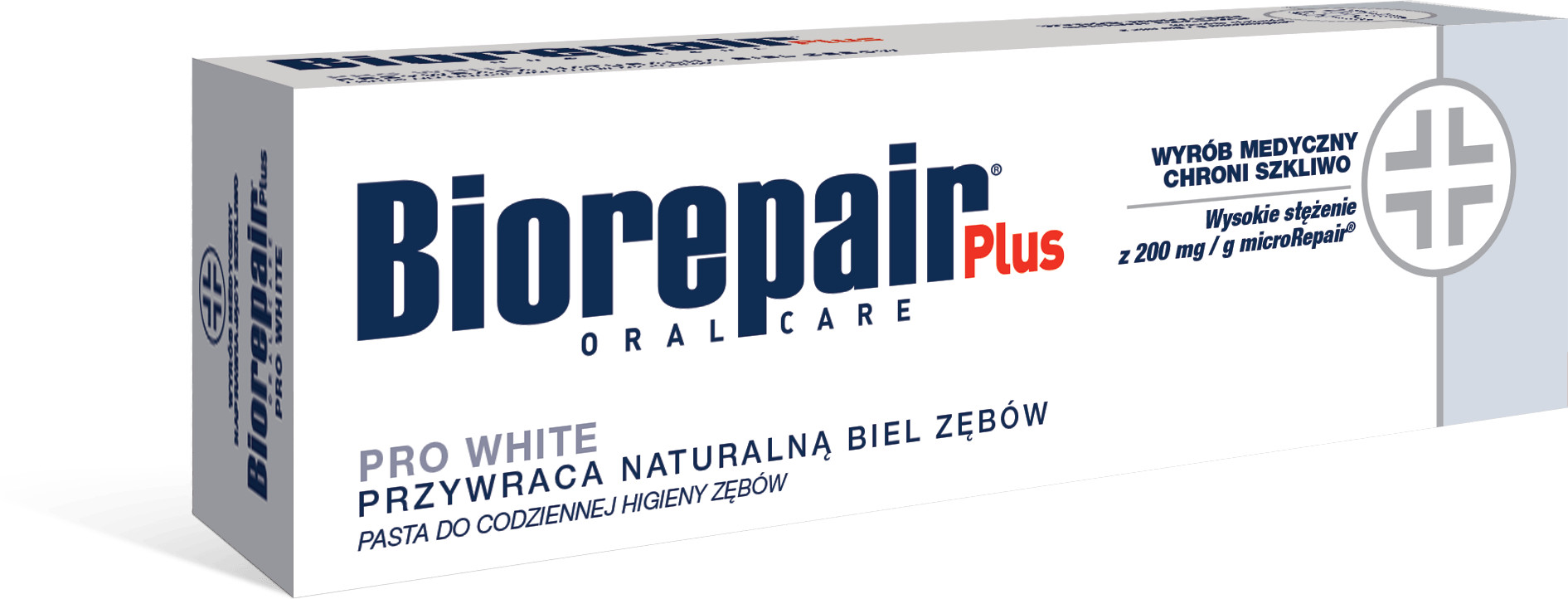 Biorepair BioRepair Plus Pasta PRO White - wybielająca 75ml