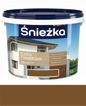 Śnieżka Emulsja Extra Fasadowa brązowa 305A 5l 557820