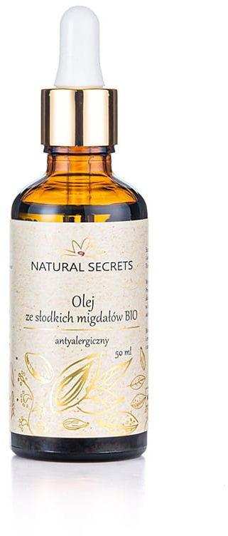 Natural secrets Natural Secrets Olej Ze Słodkich Migdałów 50 ml CDC6-441B6