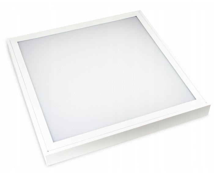 Volteno Panel LED natynkowy 60x60 cm 60W barwa neutralna biała VO0332/VO0515