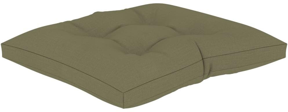 vidaXL Poduszka na podłogę lub palety, 60 x 61 x 10 cm, beżowa vidaXL
