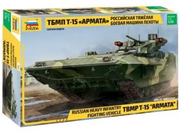 Zvezda Model plastikowy TBMP T-15 Armata Rosyjski ciężki bojowy wóz piechoty + EKSPRESOWA 24H