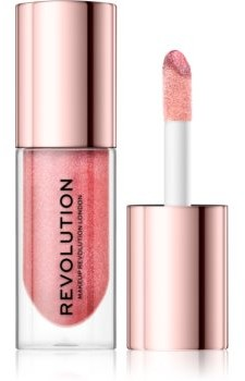Makeup Revolution Shimmer Bomb połyskujący błyszczyk do ust odcień Distortion 4,6 ml