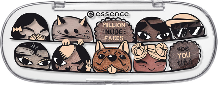 Essence Paletka cieni do powiek Million Nude Faces 35183-uniw