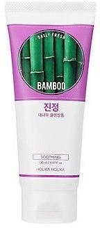 Holika Holika Daily Fresh Bamboo Cleansing Foam Oczyszczająca pianka do twarzy z ekstraktem z soku liści bambusa 150ml 1234595370
