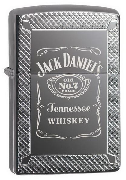 Zippo 49040 Jack Daniel's Black Ice zapalniczka 191693116106