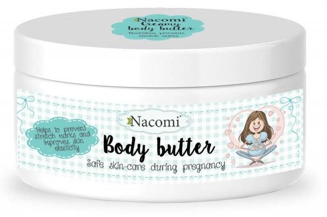 Nacomi CIĄŻA Lekkie kremowe masło do ciała dla kobiet w ciąży 100ml 1234591240