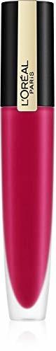 PARIS L'Oréal Rouge Signature nr 114 Represent, ultra-lekka i wysoko pigmentowana pomadka do ust, matowe wykończenie o trwałości 24 h, 7 ml