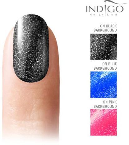 Indigo Indigo Silver Star Effect Gel Polish 7ml INDI339