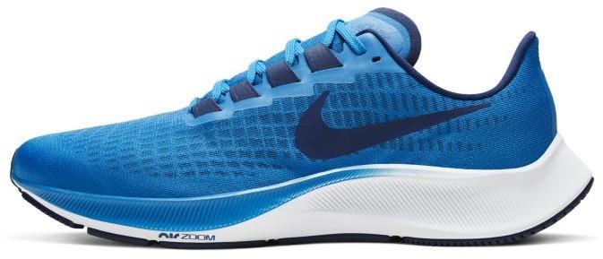 Nike Męskie buty do biegania Air Zoom Pegasus 37 - Niebieski BQ9646-400