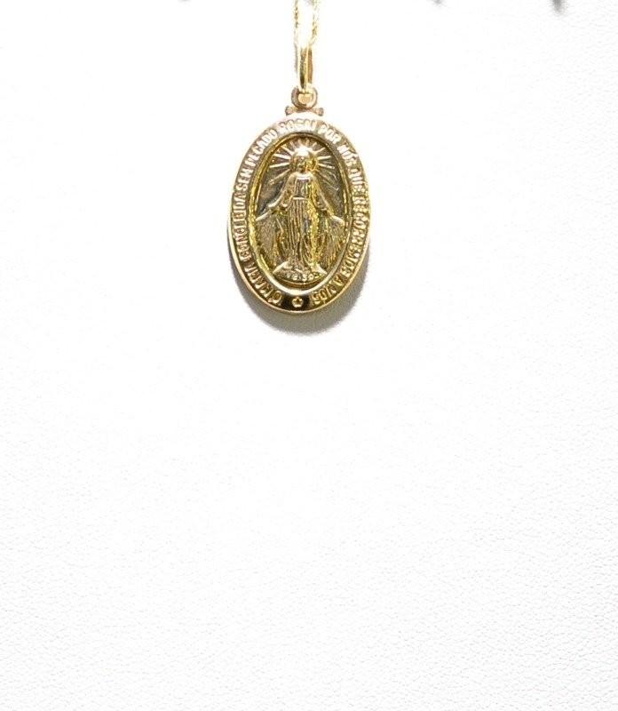 ZAWIESZKA ZŁOTA pr 585 Medalik 8067-uniw