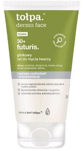 Tołpa Futuris 30+ glinkowy żel do mycia twarzy 150ml 44800-uniw