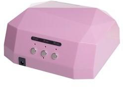 Beauty System Lampa LED 36W DIAMOND do paznokci BS-557 różowa BSBS-557/PINK