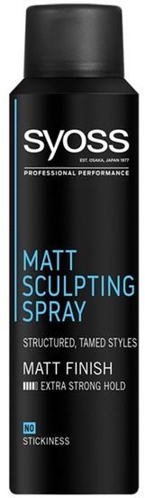 Syoss Matt Sculpting Matowy rzeźbiący spray do włosów 150ml