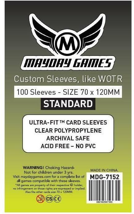 Mayday Games Koszulki WOTR Standard 70x120 (100szt)