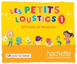 Hachette Livre Les Petits Loustics 1 audio CD Int Hugues Denisot