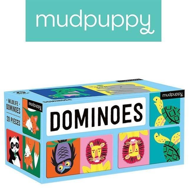 Mudpuppy Domino Dżungla
