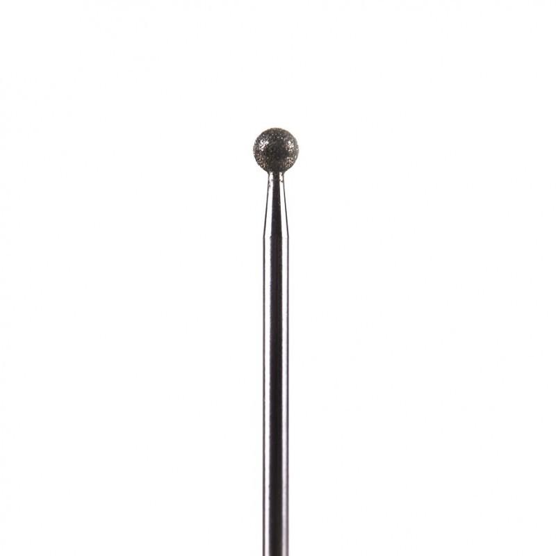 NAILS COMPANY Frez do skórek z nasypem diamentowym duża kulka / duża kula  Nails Company