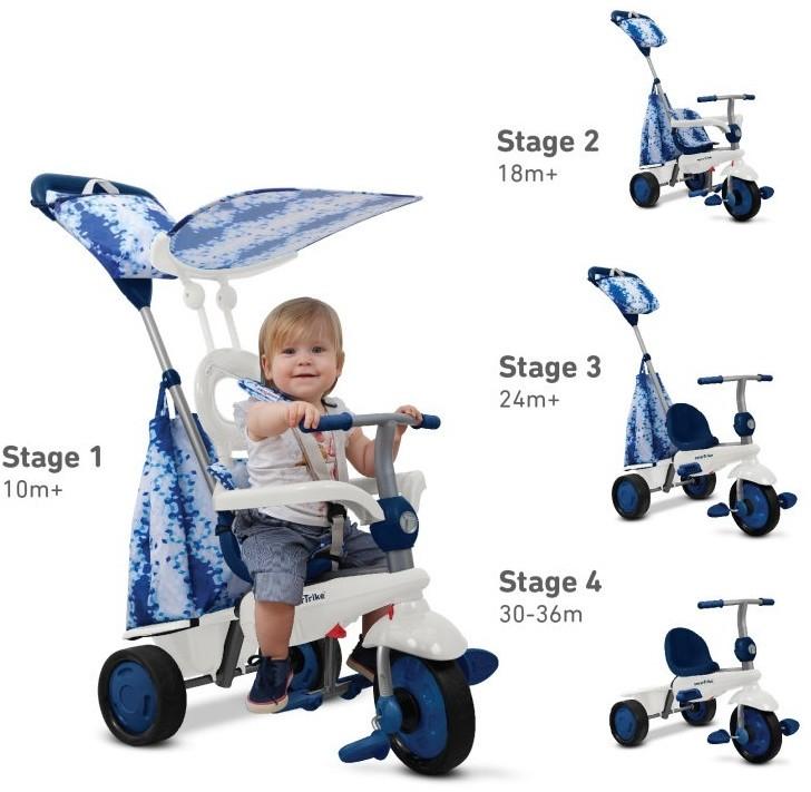 Smart Trike Pojazd/Rowerek  Spirit - niebieski
