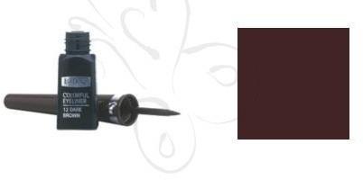 IsaDora Colorful Eyeliner 4ml - Dark Brown nr 12 12848-uniw