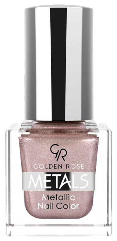 Golden Rose Metals Metallic Nail Color - Metaliczny lakier do paznokci - 111 GOLMCLPA-DOPA-10