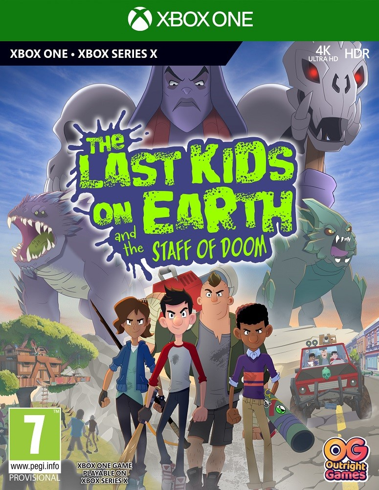 The Last Kids on Earth and the Staff of DOOM (GRA XBOX ONE / XBOX SERIES X)