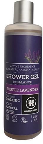 Urtekram urte Kram Purple Lavender żel pod prysznic Bio, Balance, normalny do suchej skóry, 250ML 83633