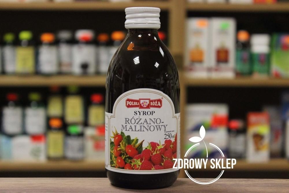 Polska Róża SYROP Różano-Malinowy 250ml