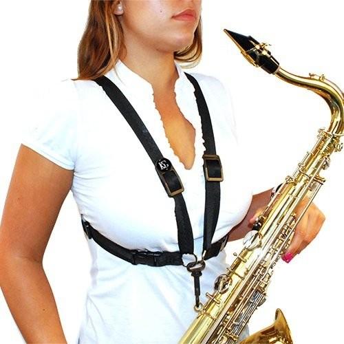 BG S41SH szelki damskie do saksofonu