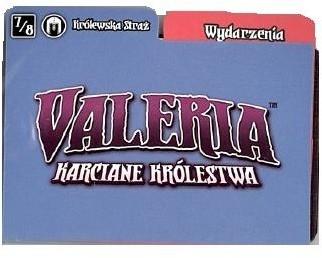 Games Factory Valeria Karciane: Królestwa Królewska Straż