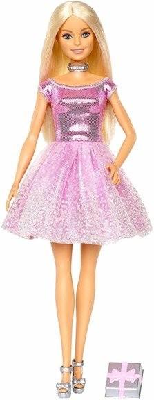 Mattel Barbie Urodzinowa z Prezentem GDJ36