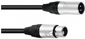 NEUTRIK Sommer SOMMER Kabel DMX AES / EBU XLR 3pin 3m bk 3030746Z