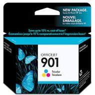 Hewlett-Packard Hewlett Packard Tusz HP 901 do Officejet 4500 J4580/4680 | 360 str | CMY CC656AE