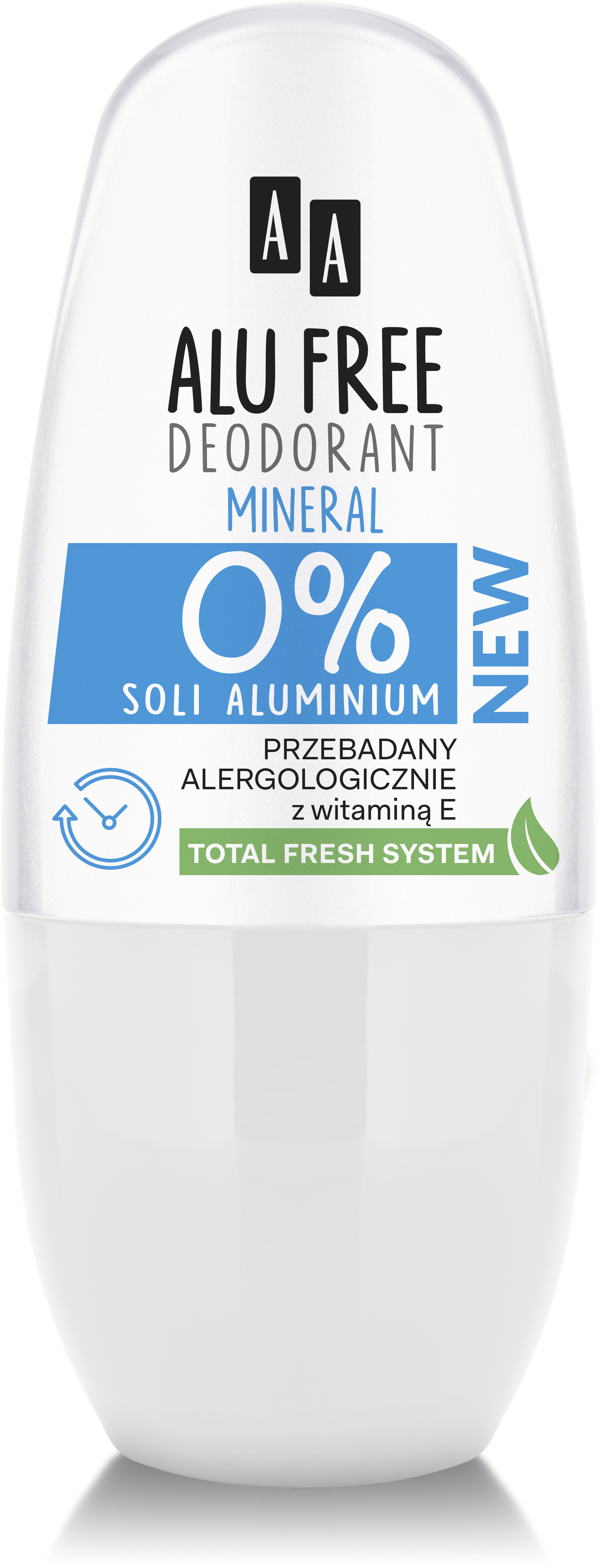 Oceanic dezodorant w kulce Alu Free Mineral 50ml Cosmetics