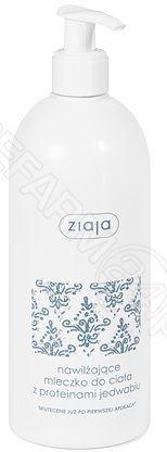 Ziaja Nawilżające mleczko do ciała z proteinami jedwabiu 400 ml 7059107