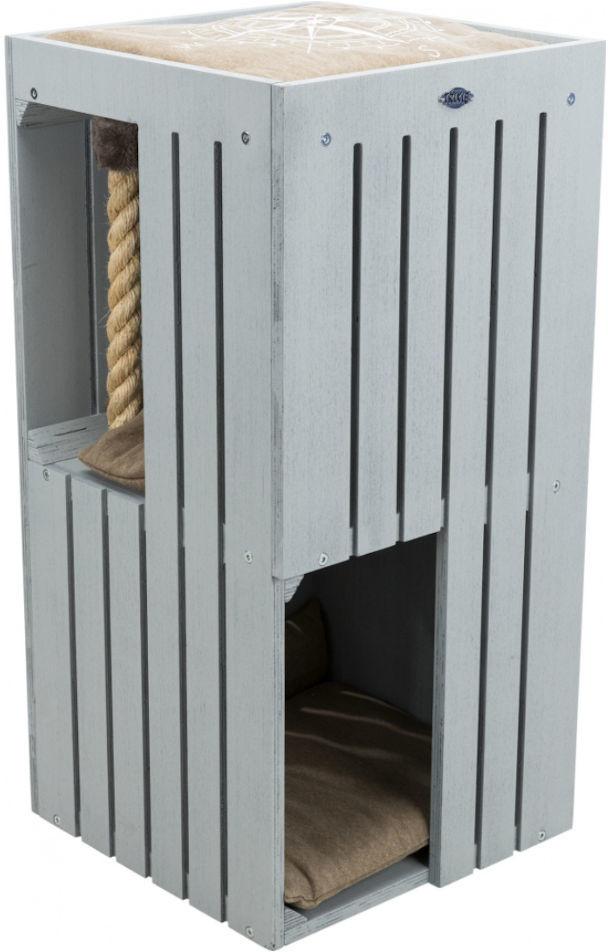 Trixie Drapak Be Nordic Wieża Juna dla kota wys 77cm kolor szaro-niebieski nr kat 44741