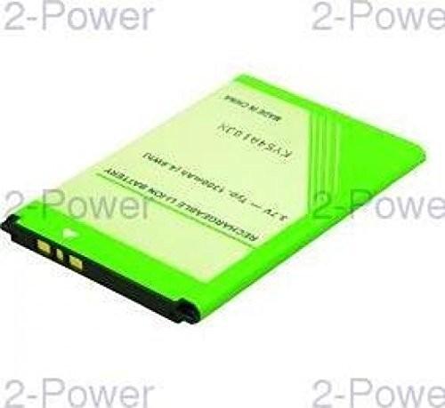 Sony 2-power 2-Power MBI0123A część zamienna do telefonu bateria/akumulator zielony - części zamienne do telefonów komórkowych (bateria/akumulator, zielony, litowo-jonowy (Li-Ion), 1300 mAh, 3,7 V) MBI0123A