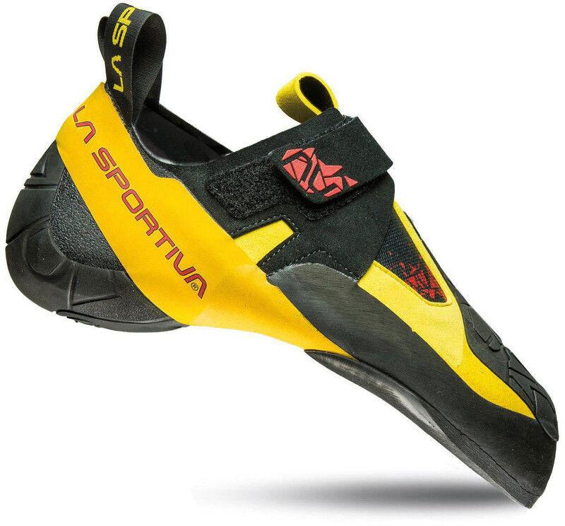 La Sportiva Skwama But wspinaczkowy, black/yellow EU 45 2020 Buty wspinaczkowe wsuwane 10SBY-45