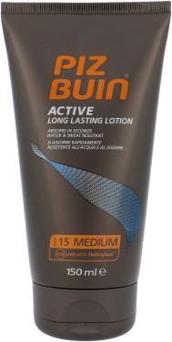 Piz Buin Active SPF15 preparat do opalania ciała 150 ml dla kobiet