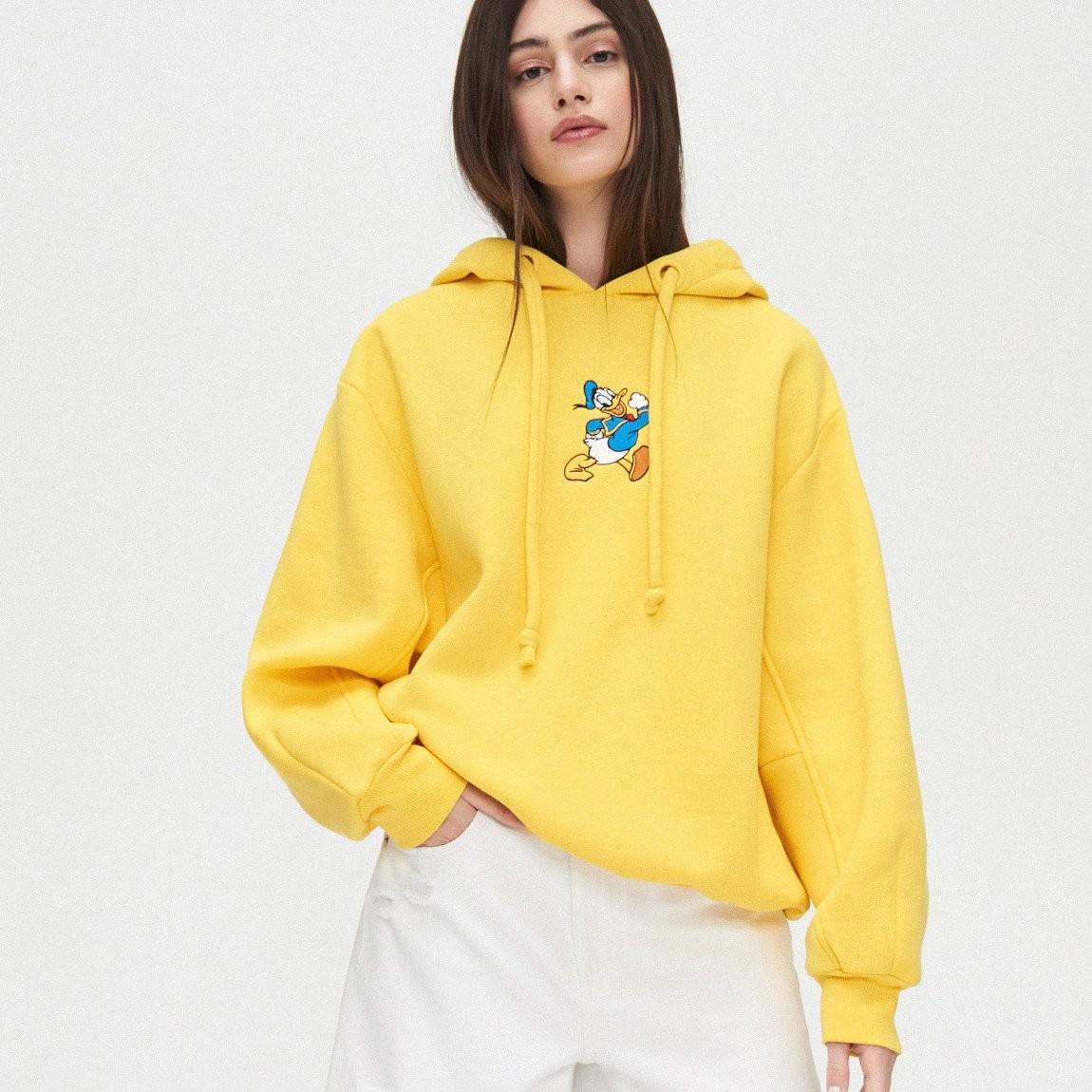 Cropp Cropp - Bluza z Kaczorem Donaldem - Żółty