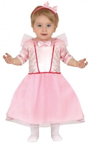 GUIRCA Strój dla dziewczynki Mała Różowa Księżniczka KBG/2043