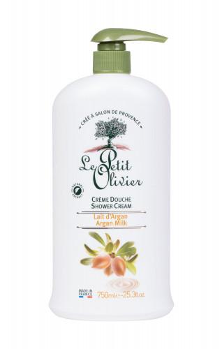 Le Petit Olivier Shower Argan Milk krem pod prysznic 750 ml dla kobiet