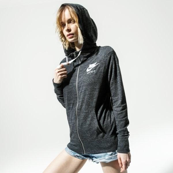 Nike BLUZA W NSW GYM VNTG HOODIE FZ 883729-010