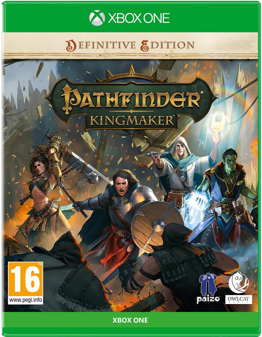 Pathfinder Kingmaker - Definitive Edition (GRA XBOX ONE)