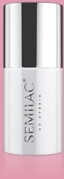 Semilac 198 Lakier hybrydowy UV Hybrid Semilac Business Line Powder Pink ZE507198