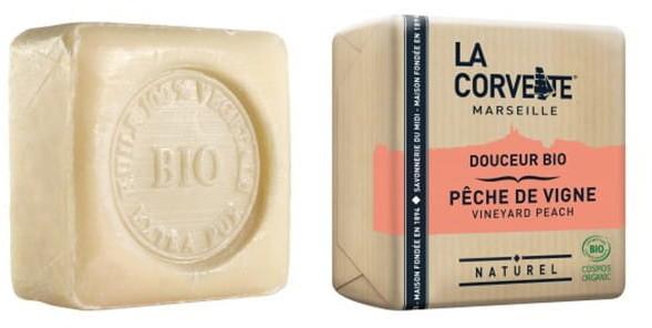 Bio LA CORVETTE Mydło Organiczne BRZOSKWINIA LA CORVETTE 100 g